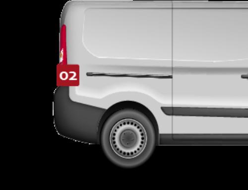 Praktijkvoorbeeld – Beveiliging bestelwagen aannemer